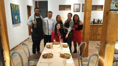 Alumnos de gastronomía en zipaquirá