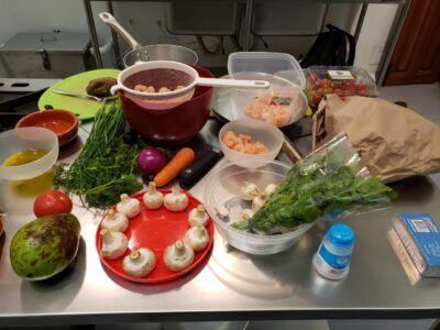 ingredientes curso de cocina